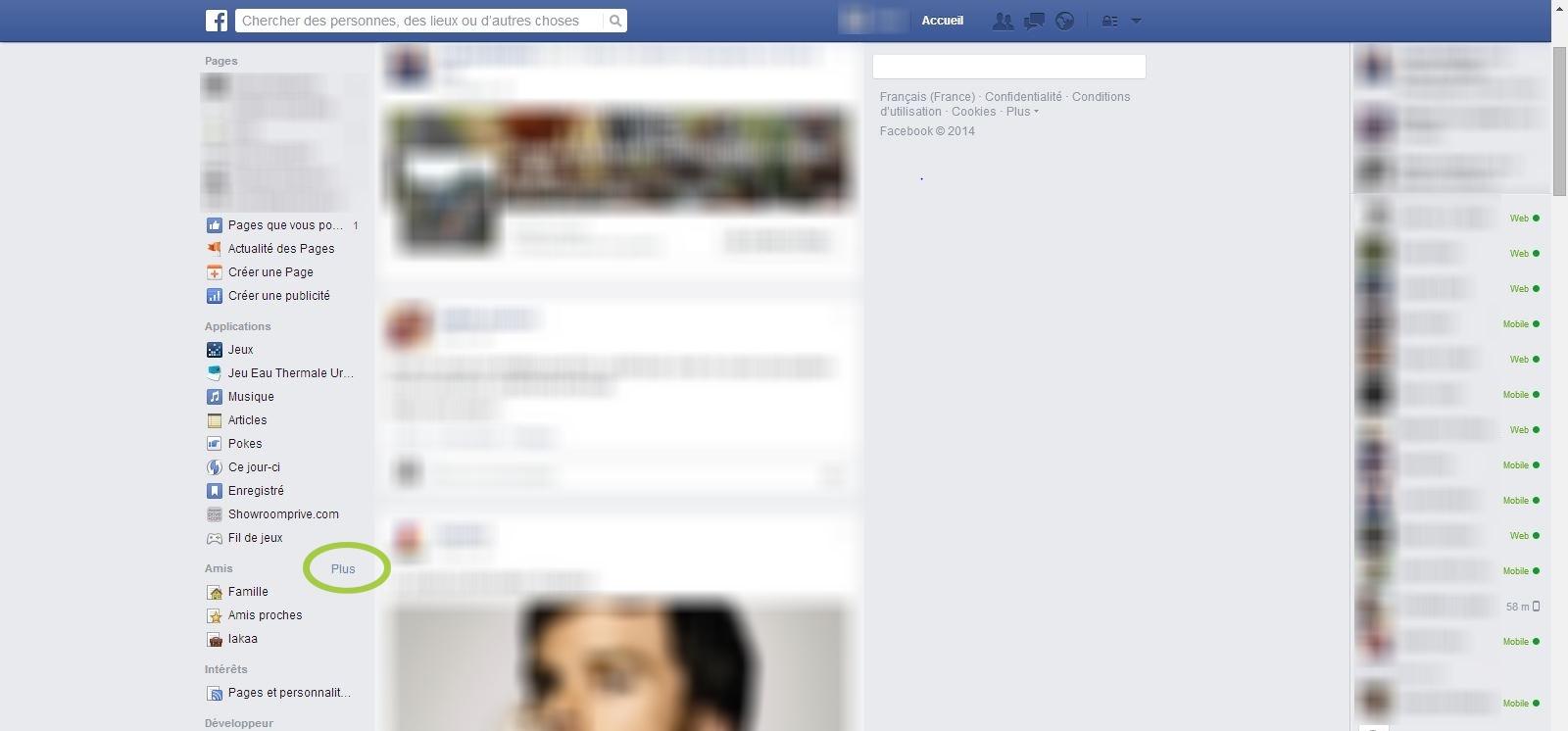 accueil facebook en français