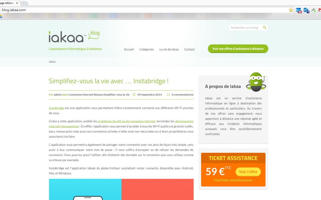 Zoom sur une page web avec Google Chrome