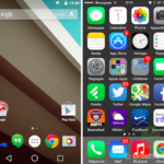 Comparatif : Android Lollipop et iOS 8