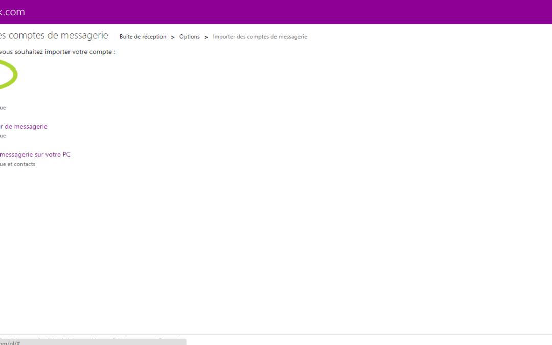 Recevoir ses e-mails Gmail sur Outlook
