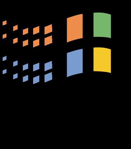 logo windows 95