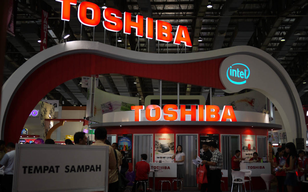 Scandale financier chez Toshiba.
