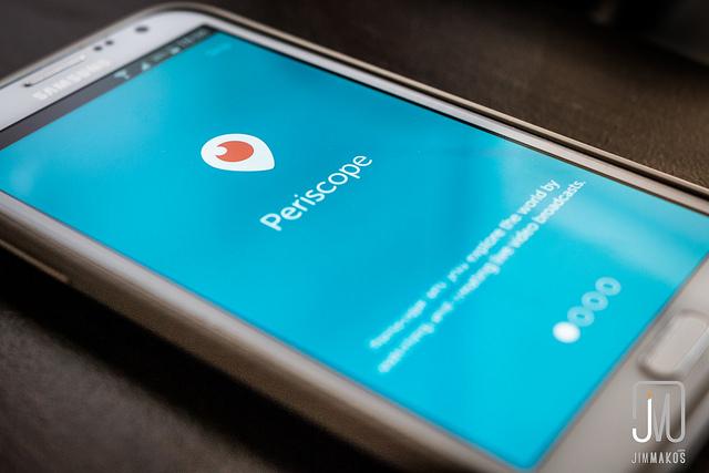 Periscope : l'appli vidéo qui fait des vagues.