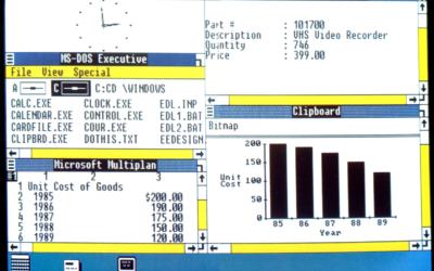 De Windows 1.0 à Windows 10 : 30 ans d'épopée Microsoft.