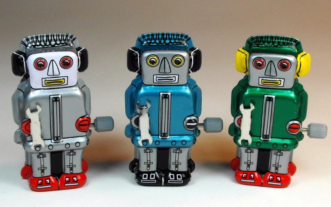 Bots: le web est peuplé de robots.