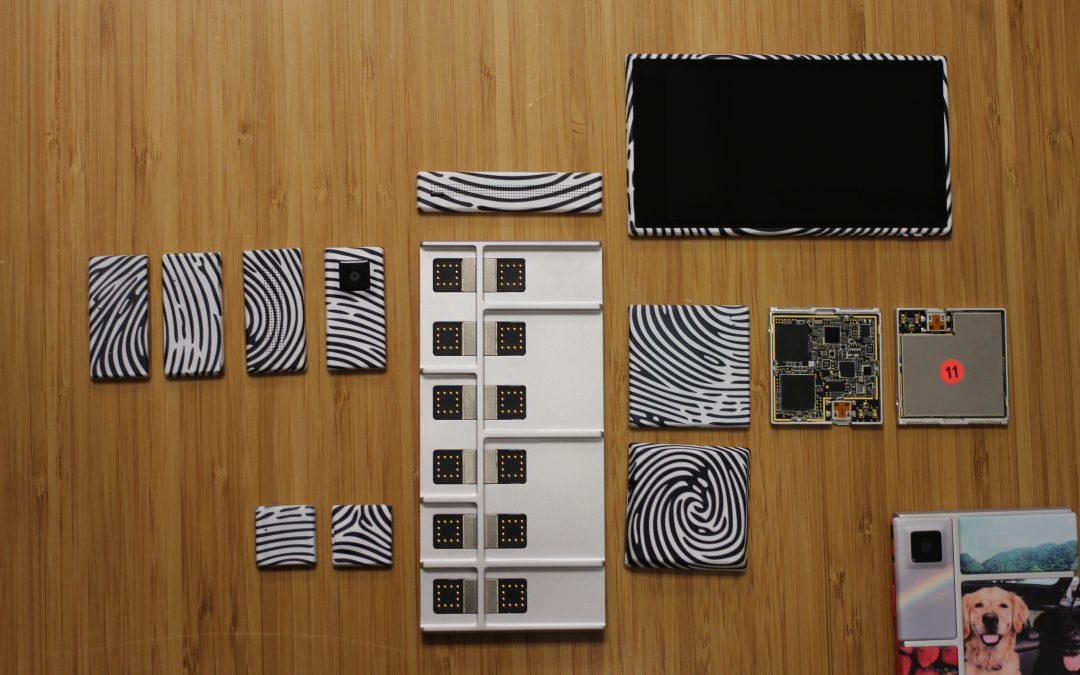 Projet Ara: Le smartphone modulable de Google